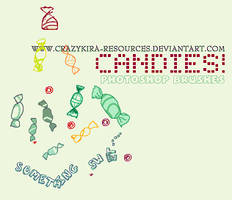 Candies by crazykira-resources