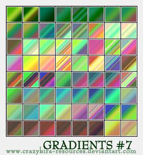 Gradients 07 by crazykira-resources
