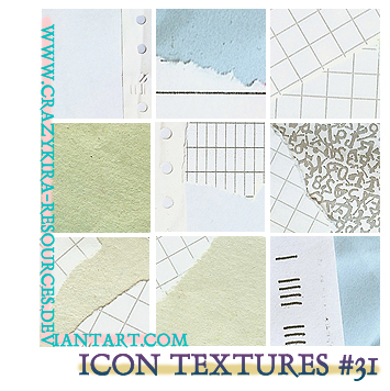 Icon Textures .31 by crazykira-resources