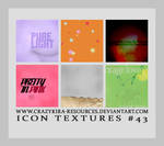 Icon Textures .43 by crazykira-resources