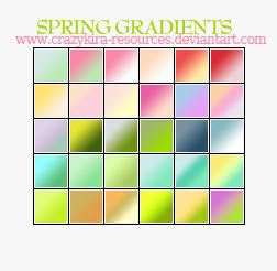 Gradients 10 by crazykira-resources