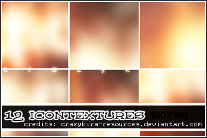 icon textures 01 by crazykira-resources