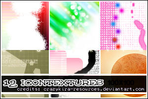 icon textures 02 by crazykira-resources