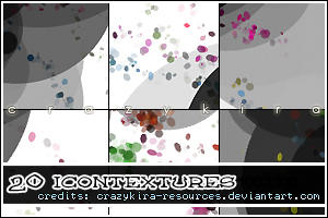icon textures 06 by crazykira-resources