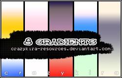 gradients 01 by crazykira-resources