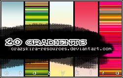 gradients 02 by crazykira-resources