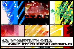 icon textures 16 by crazykira-resources