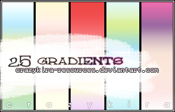 gradients 03 by crazykira-resources