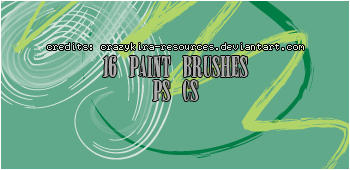 paint brushes by crazykira-resources