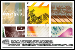 icon textures 19 by crazykira-resources
