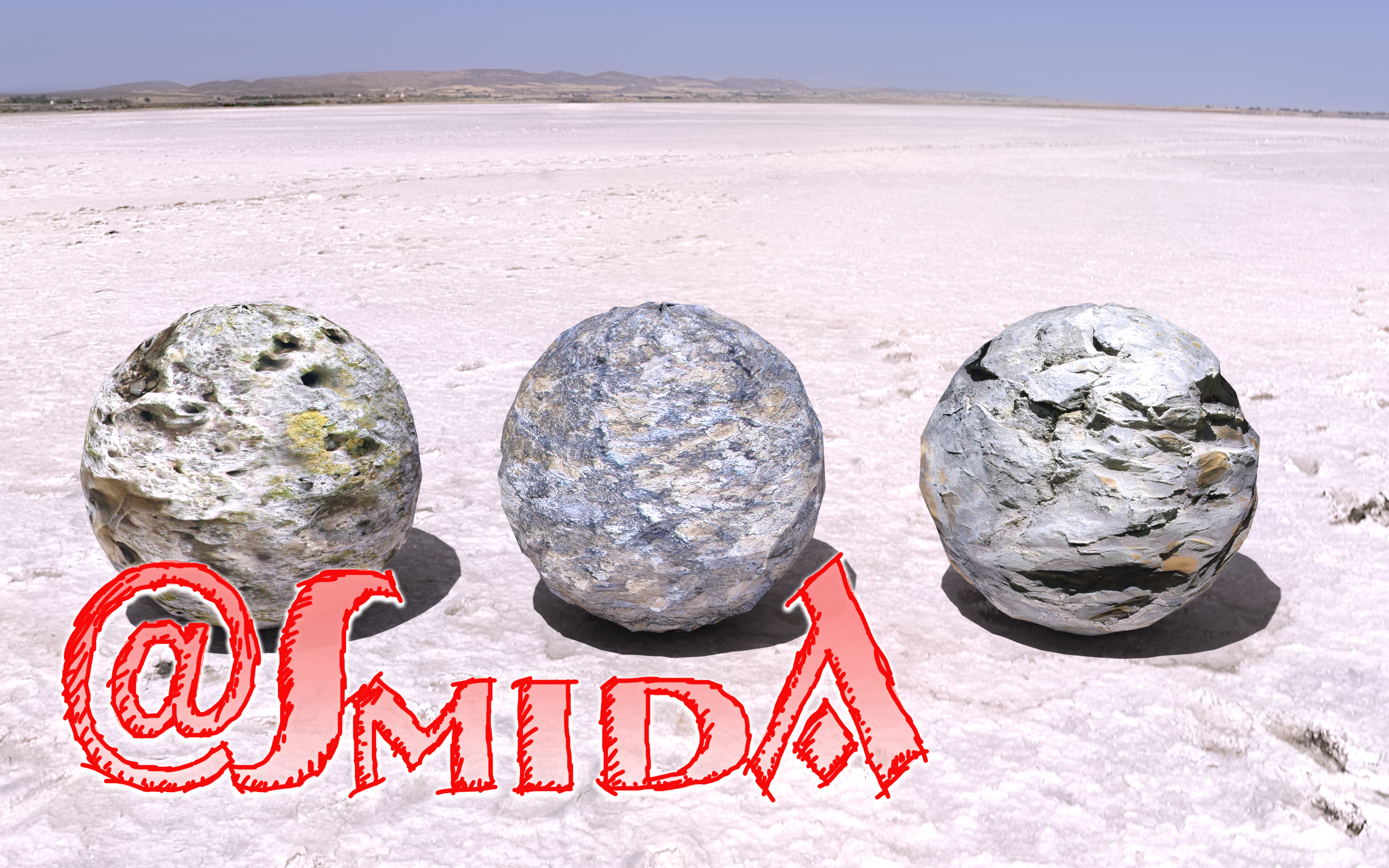 Felsshader / shadered rocksurfaces - Iray only by SmidA460