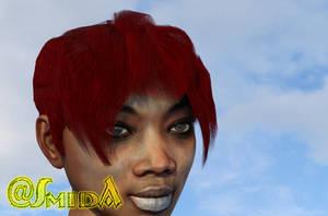 SmidA - G3+8F - Simple Hair 02