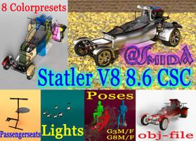 Freebie - SmidA - Statler V8 8 6 CSC - complete