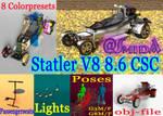 Freebie - SmidA - Statler V8 8 6 CSC - complete by SmidA460