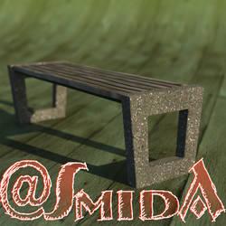 Freebie - SmidA - Bench rero by SmidA460