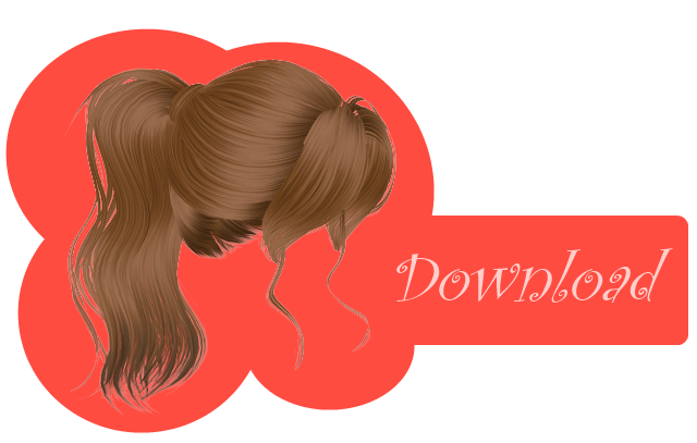 [MMD] FRINGE PONYTAIL [+DL] by Sims3Ripper