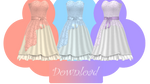 [MMD] CHERRY BLOSSOM DRESS [+DL]