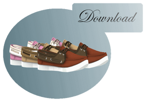[MMD] BOAT SHOES [+DL] by Sims3Ripper