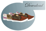 [MMD] BOAT SHOES [+DL]