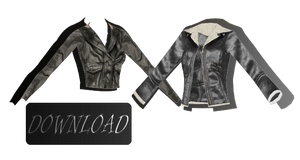 [MMD] LEATHER JACKETS [+DL]