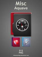 mini Aquave icon set by KillboxGraphics