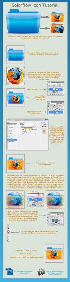 Colorflow Icon tutorial