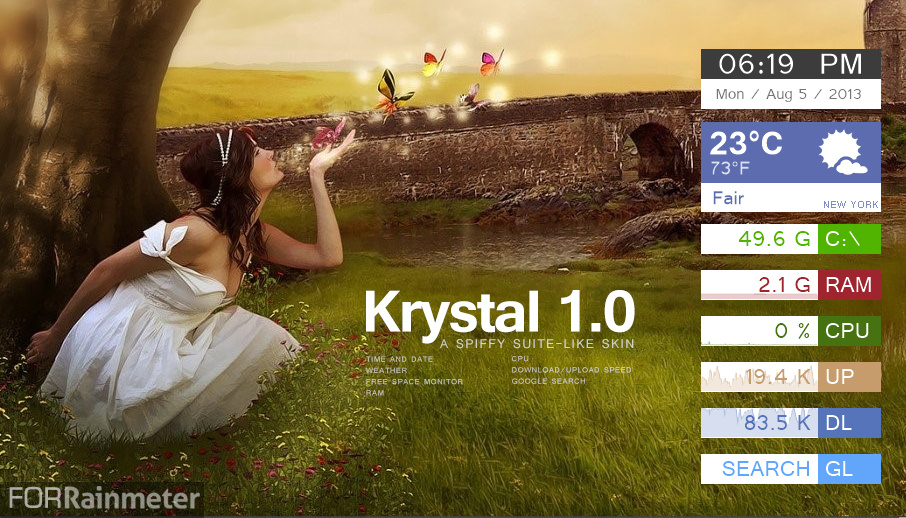 Krystal 1.0 by sa3er
