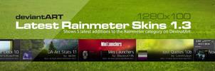 DA Latest Rainmeter Skins 1.3.1