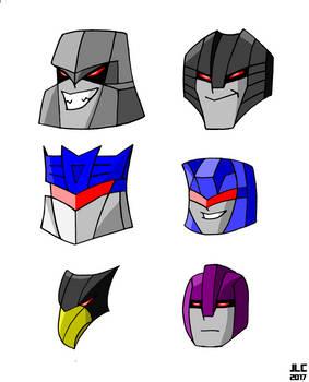 Decepticon Heads
