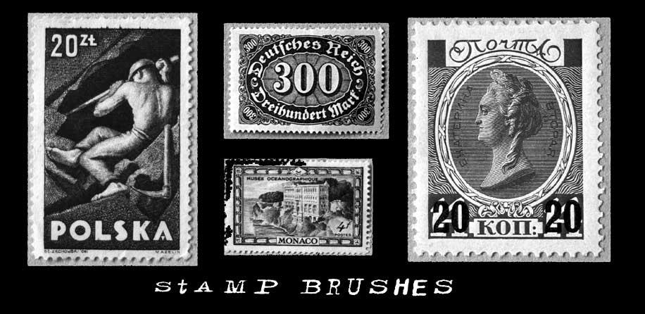 Stamp brushes by t-gar-stock