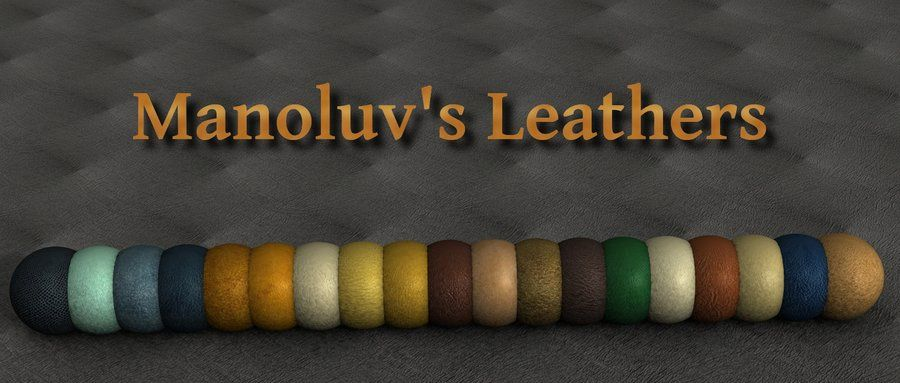 Seamless Leather Texture by manoluv