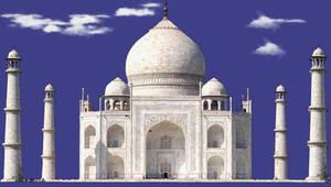 Taj Mahal PSD by manoluv