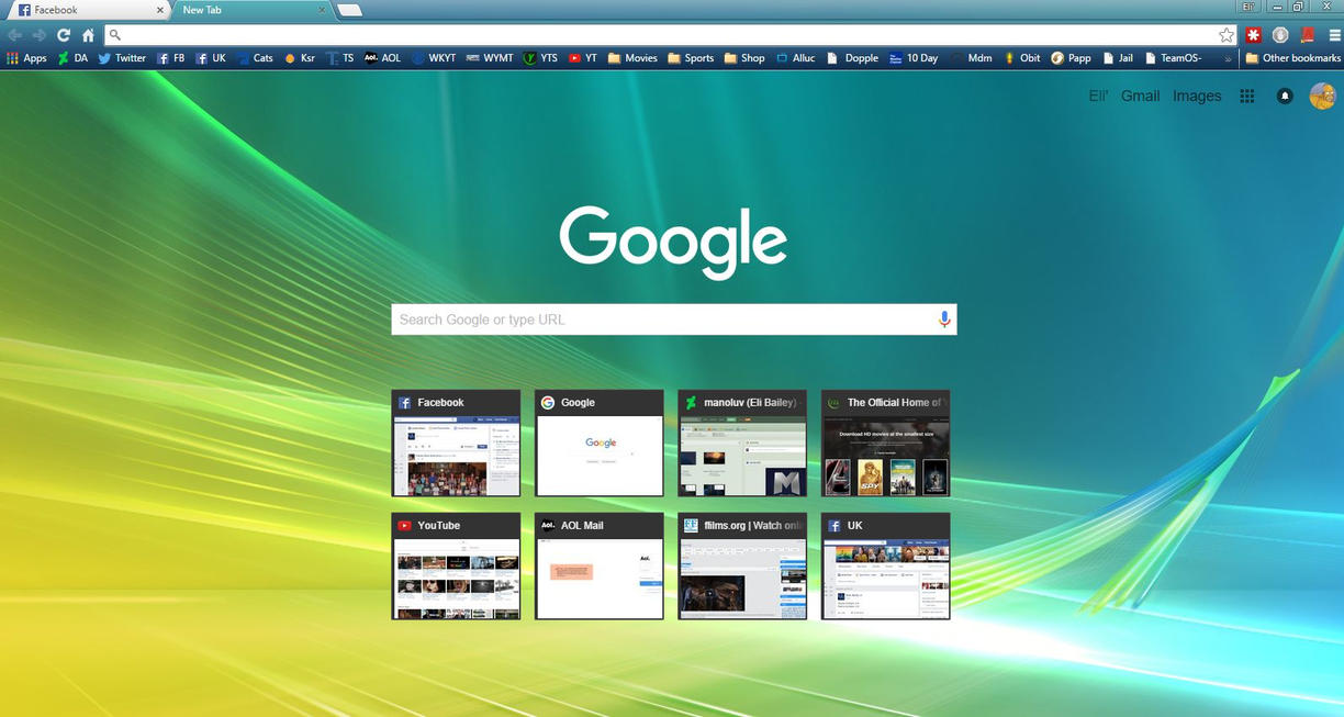 Google uk themes - Vista Theme For Chrome Crx File By Manoluv