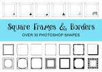SquareFramesBorders by SKSchmitz