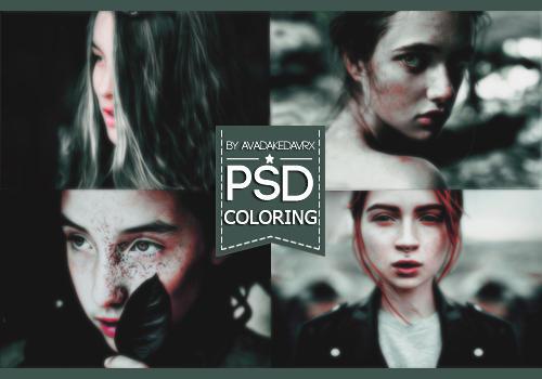 PSD Coloring By AvadaKedavrx