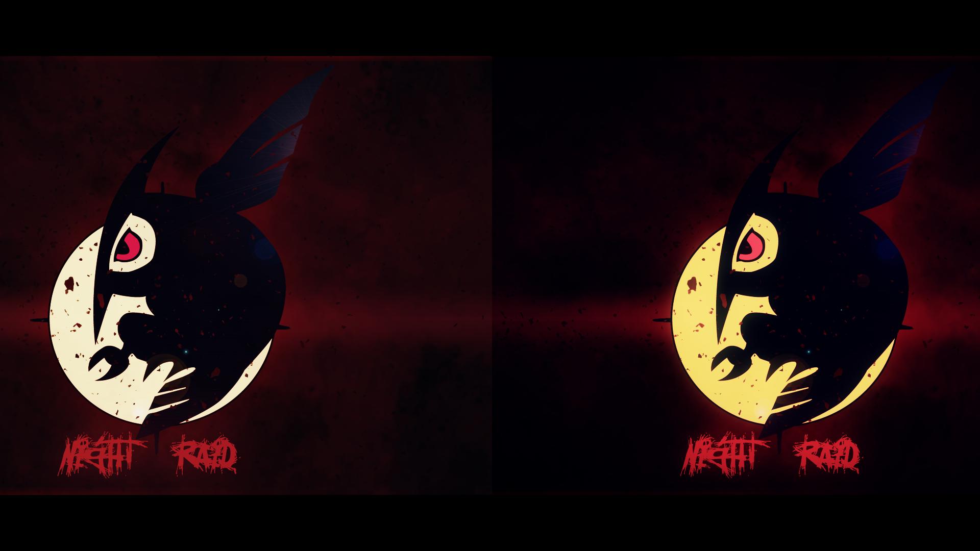 Night Wallpaper No Logo By Ualgreymon On Deviantart: Akame Ga Kill: Night Raid Logo Wallpaper Pack By