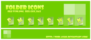 clear folder icons