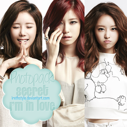 Photopack #110 | Secret - I'm In love by IrethStyle