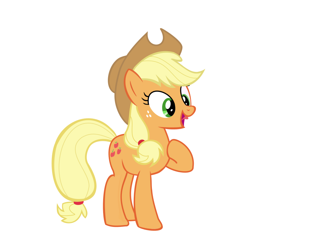 5594 applejack my little - photo #16