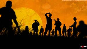 L4D - All Survivors Wallpaper