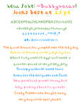 Bunnyrawr Font
