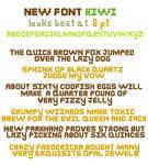 Kiwi Font