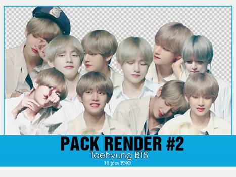 PACK RENDER #2 - TAEHYUNG BTS