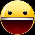 yahoo smiley svg