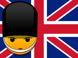 Smileys of the World: English Footguard (vector)
