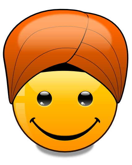 Hats of the World: Turban (svg) by mondspeer on DeviantArt