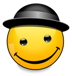 Hats of the World: Bowler Hat (svg)