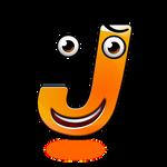 Smiley Alphabet - J
