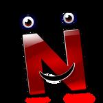 alphabet-smiley-N