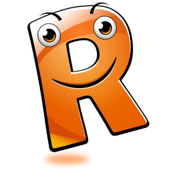 Smiley Alphabet - R